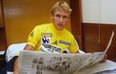 Adrie van der Poel droeg in het verleden de gele trui in de Tour de France.