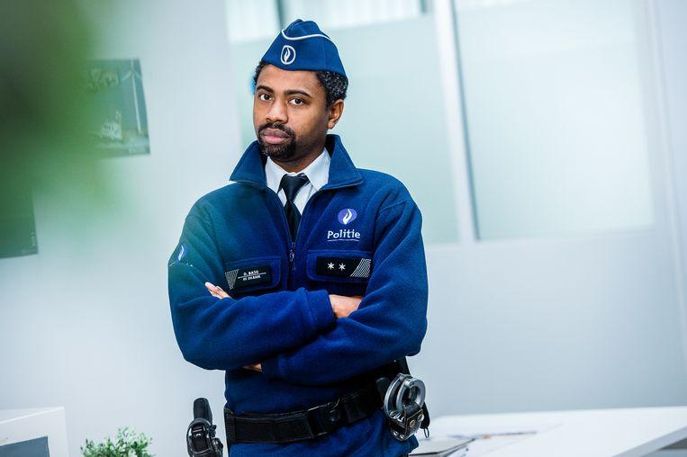 Echte Verhalen: De Buurtpolitie, seizoen 8 vanaf maandag 28 augustus 2017 elke weekdag bij VTM. Op de foto: Obi (Johan Kalifa Bals).