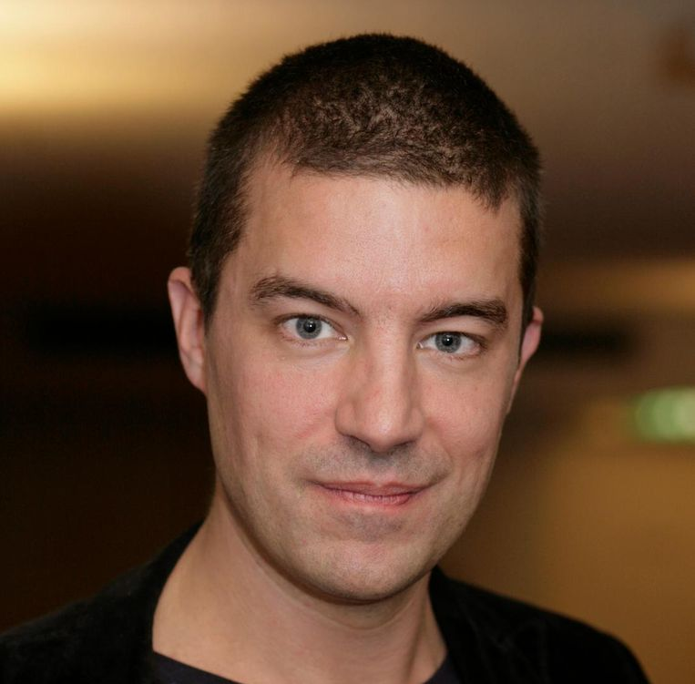 Pieter van der Wielen, presentator. Beeld anp