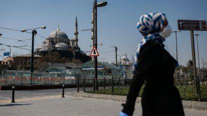 Turkije legt 31 steden lockdown op