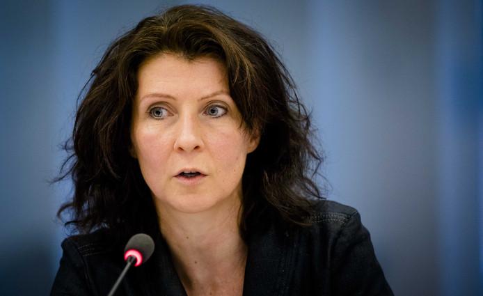 Tweede Kamerlid Esther Ouwehand van de Partij voor de Dieren.