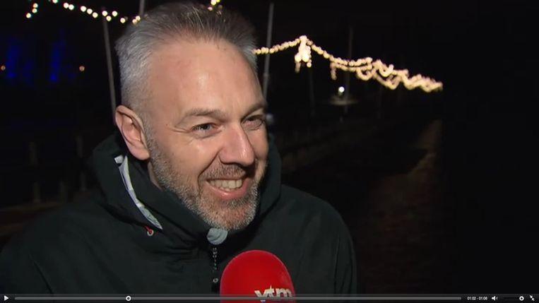 Jan Van Biesen is een heel tevreden man