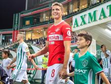 Guus Til maakt in blessuretijd winnende goal voor Spartak Moskou