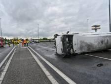 Automobilisten krijgen boete voor rijden op afgesloten rijstrook bij Breda