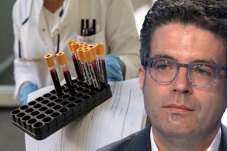Volgens viroloog Steven Van Gucht is het nog te vroeg om ongerust te zijn over de stijging van het aantal besmettingen.