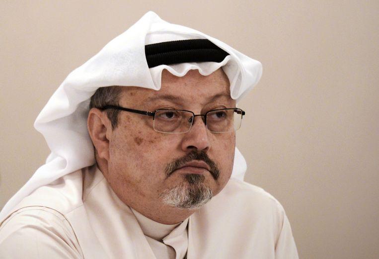 De Saoedische journalist Jamal Khashoggi op een foto uit 2014.
