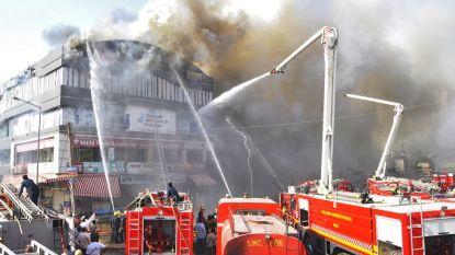 Al 18 leerlingen gestorven in vlammenzee in Indiaas studiecentrum