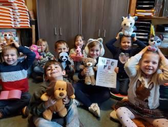 Kinderen De Regenboog in de ban van 'voorleesdiertjes': maak kennis met Polly, Marie, Alfred, Suzie en Marcel