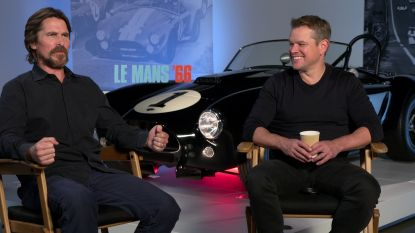 """INTERVIEW. Ondanks rol als snelheidsduivel in 'Le Mans 66' is Matt Damon erg voorzichtig: """"Doe mij maar een versnelling minder, mijn leven is zo al hectisch genoeg"""""""