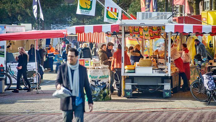 Veel markten gaan nog gewoon door, die in de gemeenten Gennep en Mook en Middelaar niet.