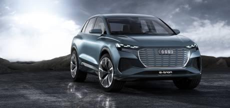 De Q4 e-tron wordt Audi's tweede volledig elektrische SUV