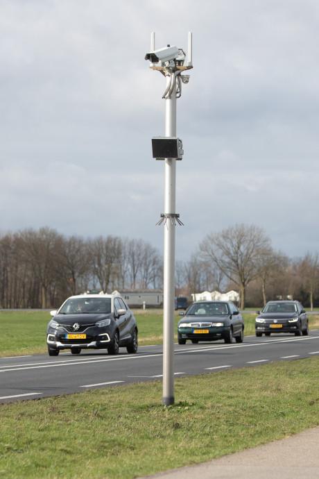 Trajectcontrole op Bisschopsweg gaat maandag écht aan: 'Het was een racebaan'
