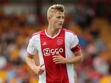 Domper voor Ajax: geblesseerde De Ligt mist CL-start