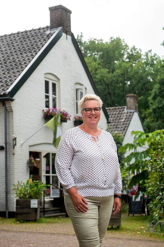 Marleen Brekelmans bij Brasserie Heerlijkheid.