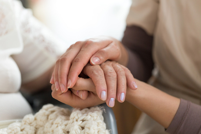 hospice, bejaardentehuis, tehuis, verzorgingstehuis. Foto ter illustratie