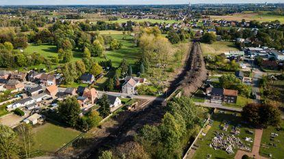 Nieuwe verbindingsweg over Eisden-Dorp krijgt vorm