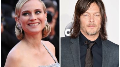 Diane Kruger en 'The Walking Dead'-acteur Norman Reedus krijgen kind