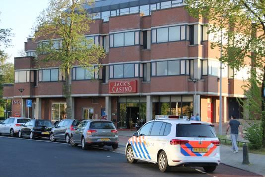 Jack's Casino in Arnhem-Zuid kort na de overval.
