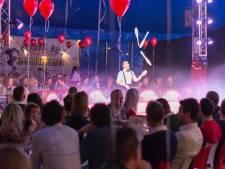 Dineren in het circus: 'Na al die jaren nog steeds met een 'wow-gevoel' naar buiten'