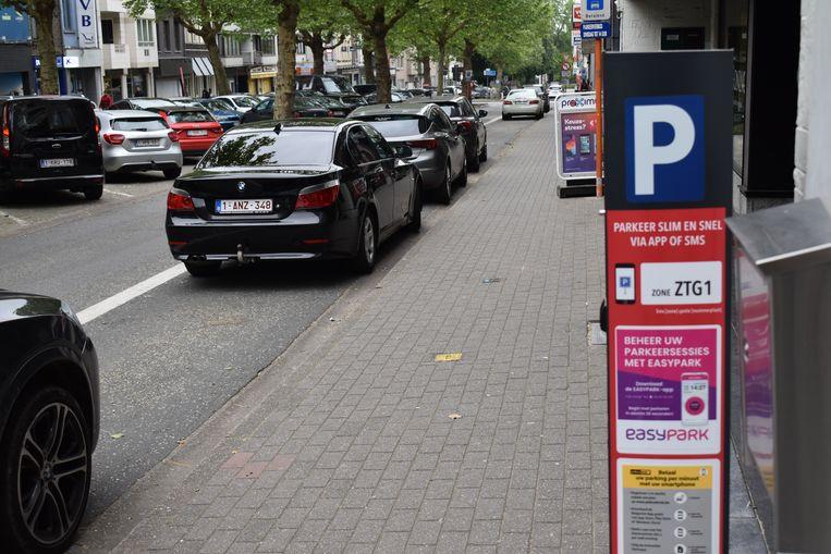 Parkeren in het centrum van Zottegem wordt tijdelijk gratis.