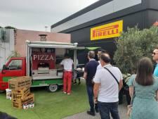 F1-blog: In de paddock in Monza eet iedereen dezelfde pizza