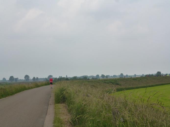 Hoe sterk is de eenzame loper nabij Teeffelen?