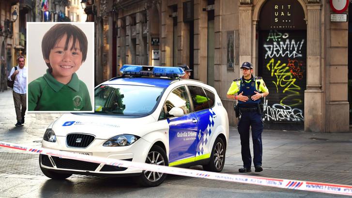 Vermist jongetje mogelijk te zien op video Barcelona