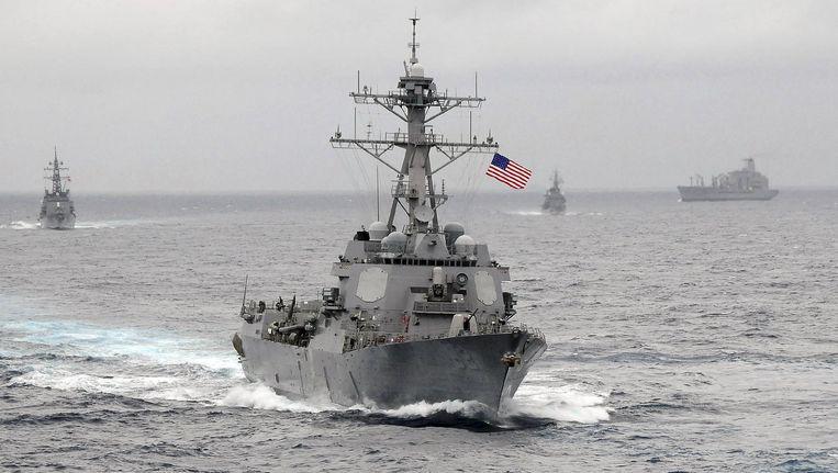 De USS Lassen. Beeld reuters