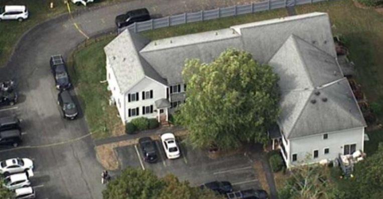 In deze woning zijn vijf mensen uit hetzelfde gezin dood gevonden.