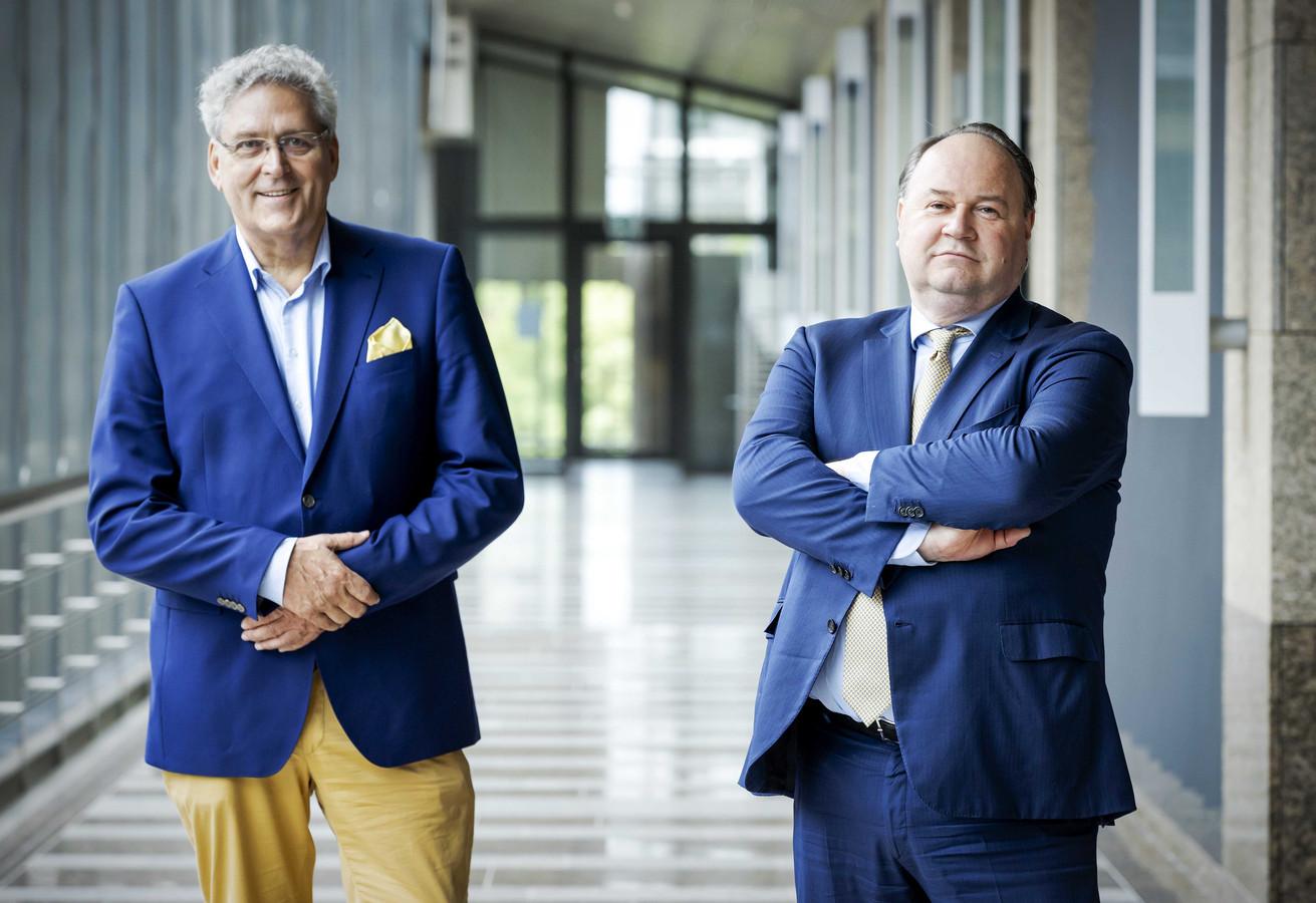 Henk Krol en Henk Otten gaan samenwerken binnen de Partij voor de Toekomst.
