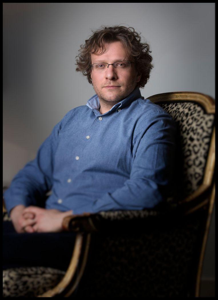 Peter Pomerantsev. Britse tv-producent die een boek heeft geschreven over zijn ervaringen in de Russische mediawereld. Beeld Hollandse Hoogte / Marco Okhuizen