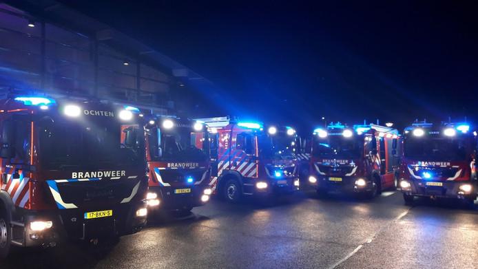 Nieuwe brandweerwagens.