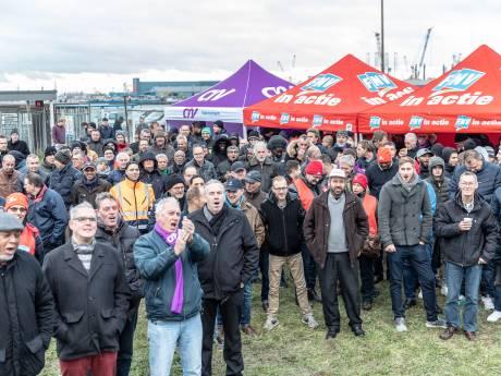 Stakende metaalarbeiders: 'wie niet horen wil, moet maar voelen'
