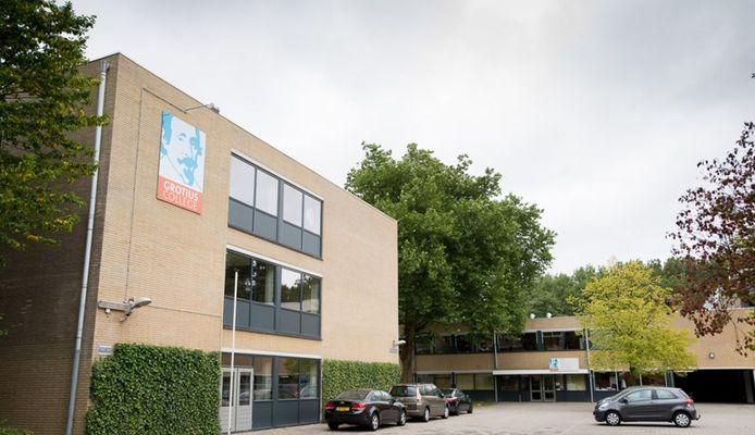 Het Grotius College aan de Juniusstraat in Delft.