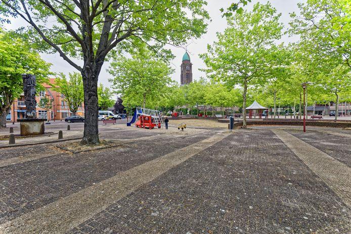 Het Willem-Alexanderplein in Teteringen wacht al tijden op een facelift. Er is al lang gepraat tussen bewoners en gemeente Breda, maar nu lijkt er schot in de zaak te zitten.