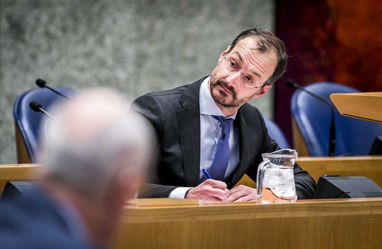 Minister van Economische Zaken en Klimaat Eric Wiebes Beeld ANP