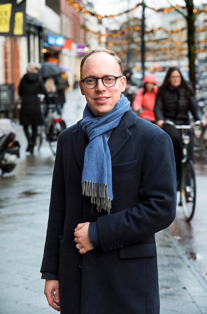 De nieuwe D66-wethouder Eelco Eerenberg.