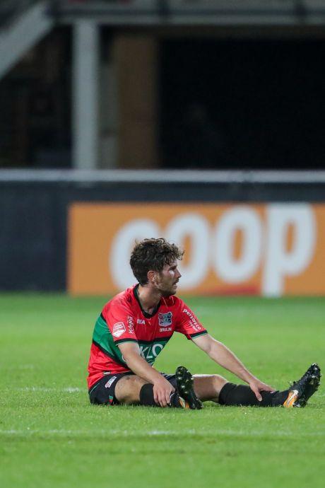 Tieners van NEC zijn spoor bijster: 'Dit was echt de slechtste wedstrijd tot dusver'