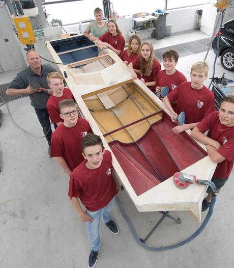 Solarboot De Waerdenborch in Goor klaar voor strijd