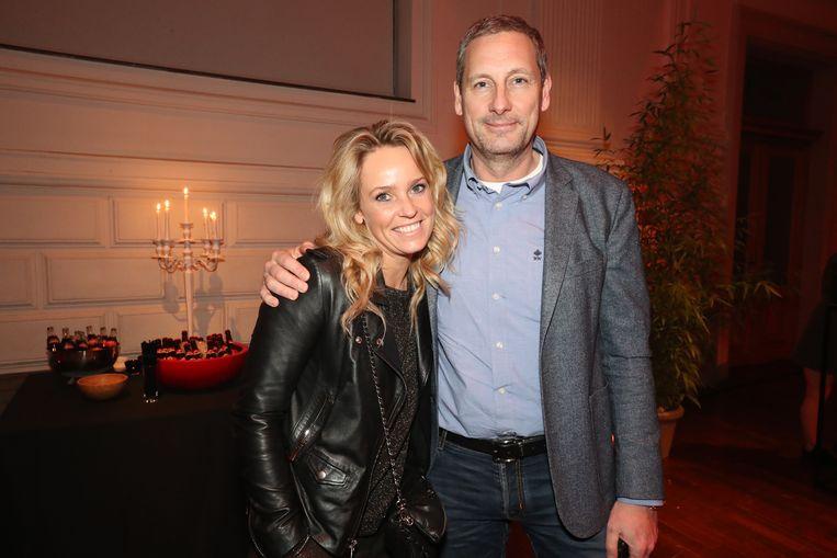 Gert Verhulst met zijn partner Ellen.