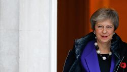 "Britse premier May sluit ""geheim akkoord"" over douane-unie na brexit"