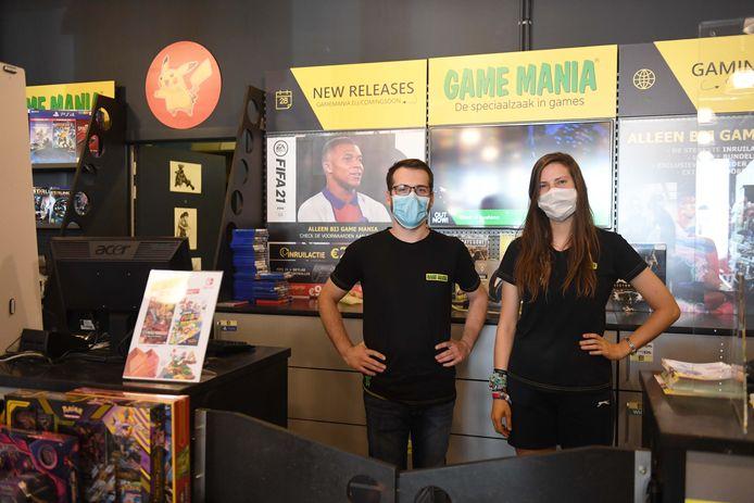 Game Mania Leuven krijgt de bestellingen vlot binnen.