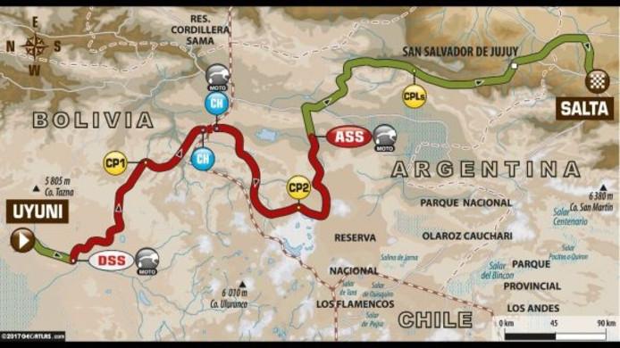 Dakar Rally etappe 8