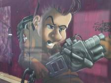 Street Art Festival geeft Ede-Centrum een ghostbuster