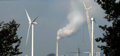 Vijf nieuwe windmolens tegenover de Sint Antoinedijk, maar op Fijnaarts grondgebied