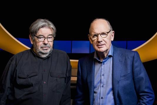 Maarten van Rossem en Philip Freriks.
