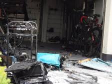 Flinke schade in Budelse garage na brand door slijpen