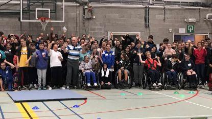 Meer dan 500 leerlingen nemen deel aan sportdagen