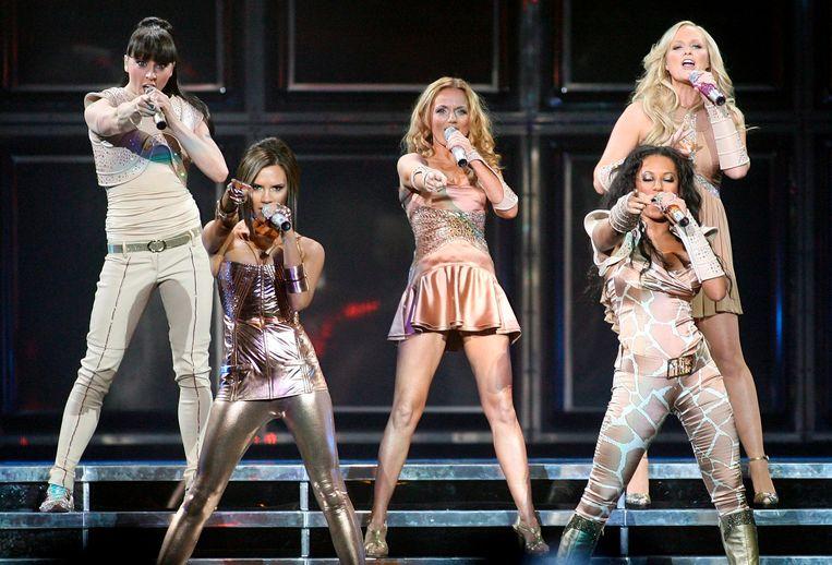 De Spice Girls in 2007. Beeld null