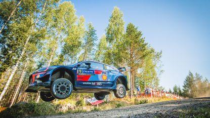 WK-leider Neuville pas tiende na eerste dag in Rally Finland, Tänak op kop